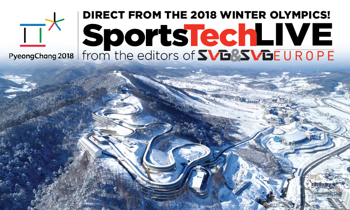 Countdown to PyeongChang 2018: SVG Launches SportsTechLive Blog in Leadup to Winter Olympics