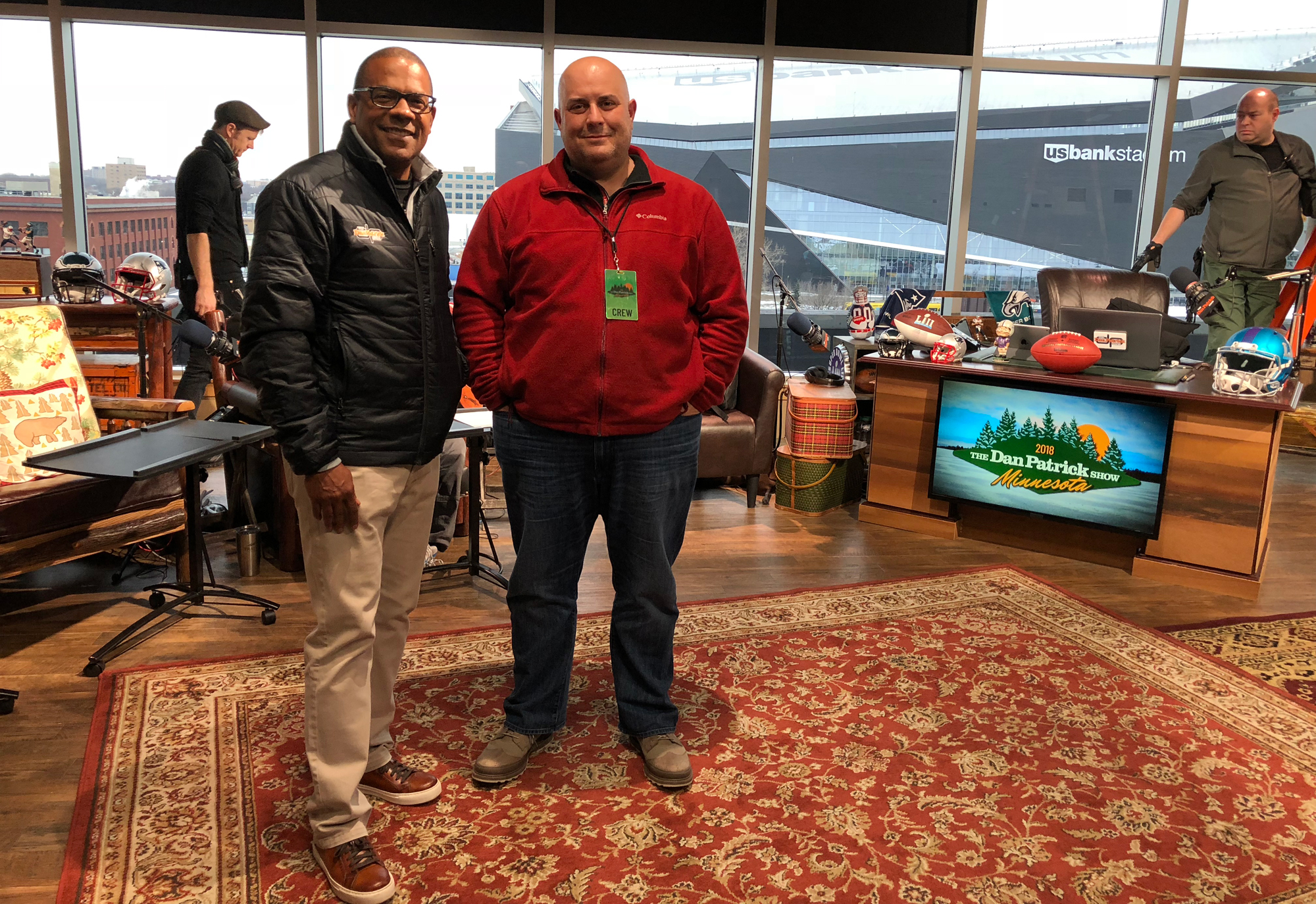 Live From Super Bowl LII: AT&T's Dan Patrick Show and Rich Eisen