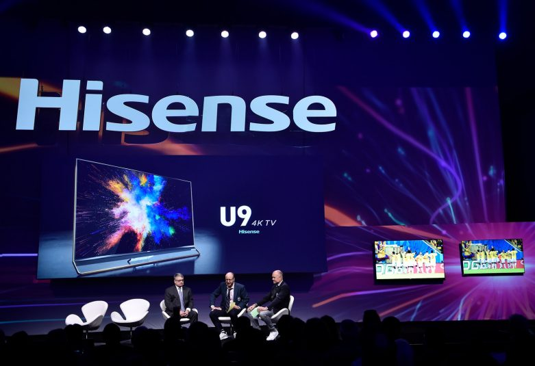 Live From CES 2018: Hisense, Fox Sports Partner Up for