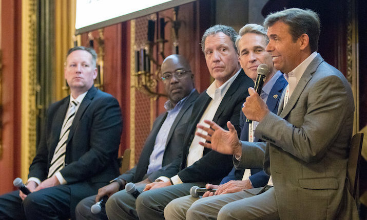 Teams, Networks Discuss How To Tighten Storytelling Bonds