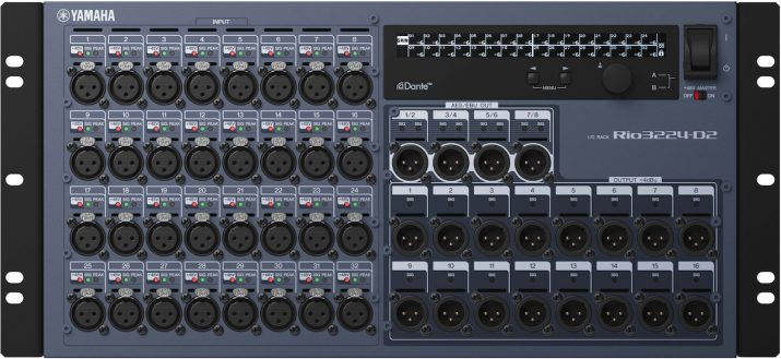 Yamaha professional audio announces three new products for Yamaha rio3224 d