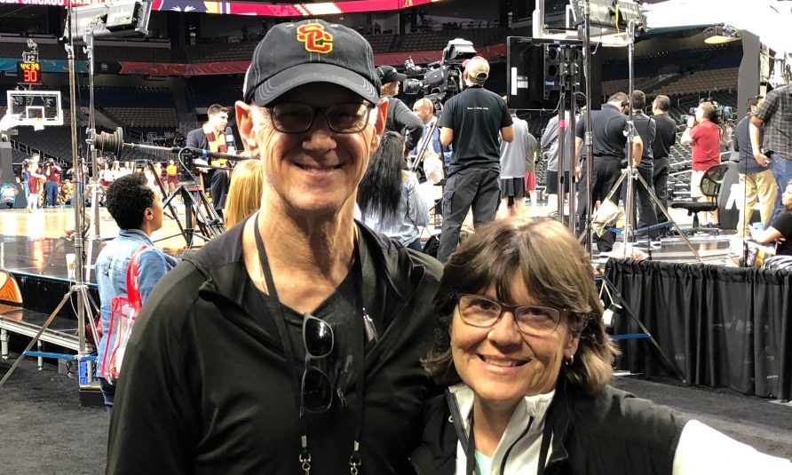 Live From Final Four: Camera Operator Janis Murray Makes History Taking Over Main Game Camera