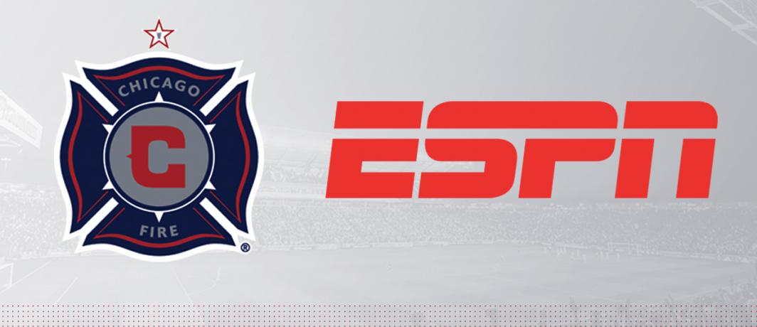 Chicago Fire, ESPN Ink Three-Year Exclusive Rights Deal to