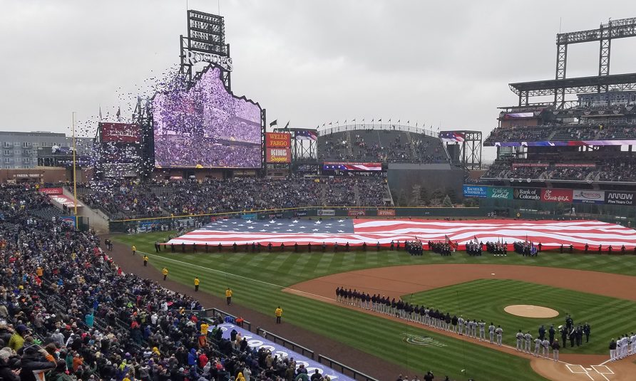 Colorado Rockies Blaze the HDR Trail With New Mountain-Size Videoboard at Coors Field