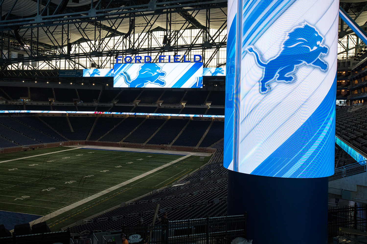 image about Detroit Lions Printable Schedule known as Detroit Lions Boost Sport-Working day Presentation, Manufacturing