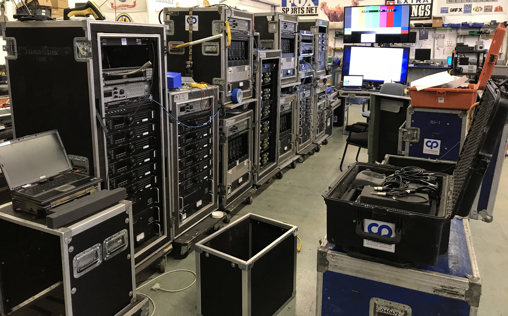 CP Communications Supplies 2018 U S  Open Championship With
