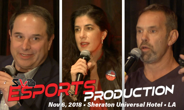 SVG On Demand: Catch All Three Keynote Conversations From SVG's Esports Production Forum