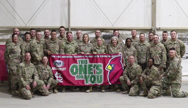 Fox Sports Midwest To Feature Troops Deployed to Middle East
