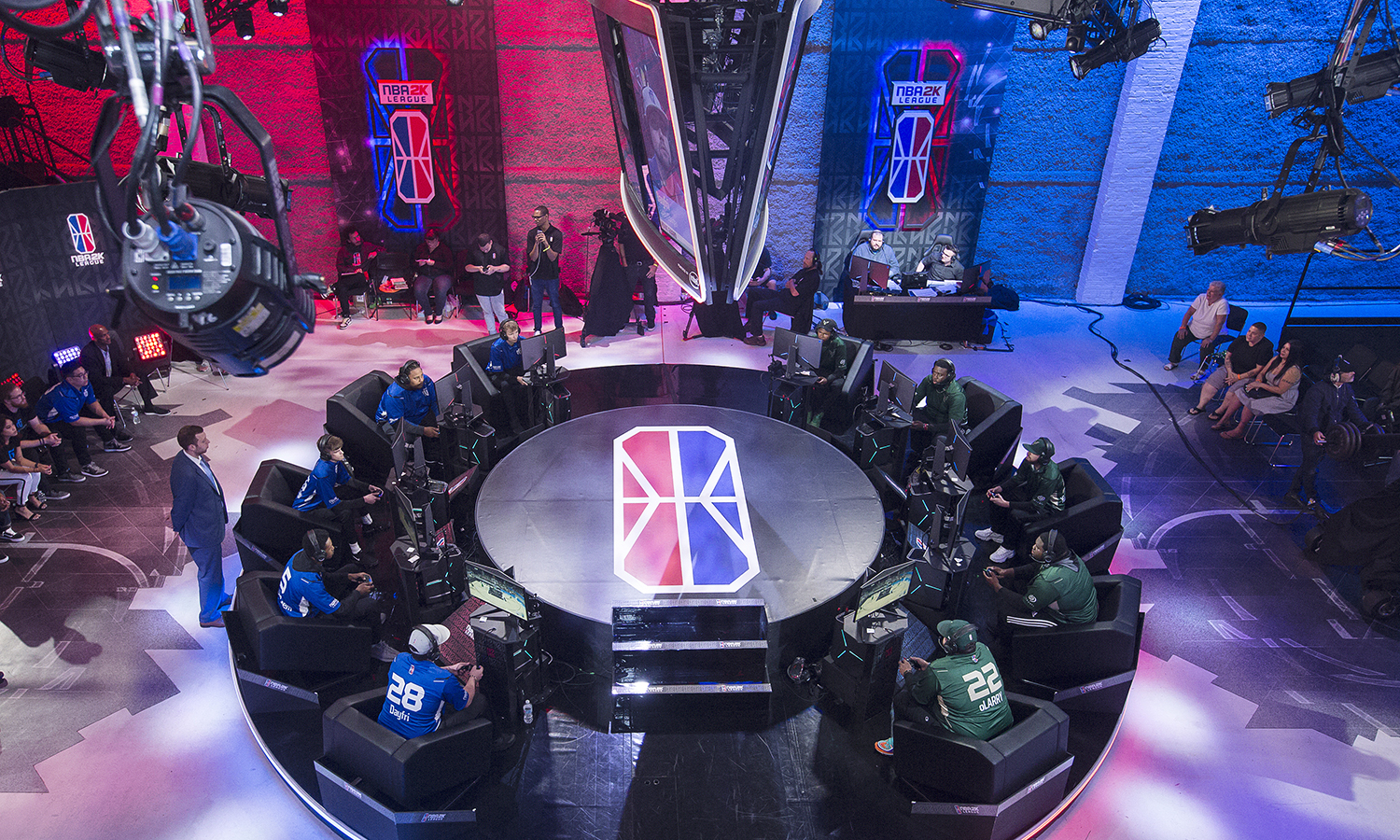 As NBA 2K League's First Season Closes Out, Studio and Production Workflows Continue To Evolve