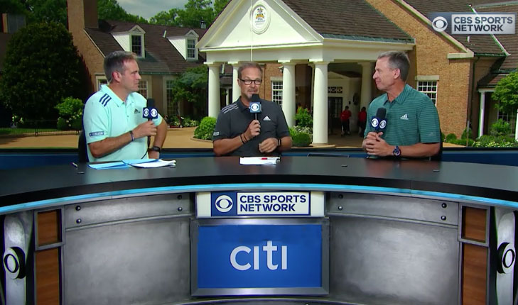 PGA Championship Spotlight, Part 2: CBS Sports' Massive Operation Includes 4K HDR, At-Home Productions