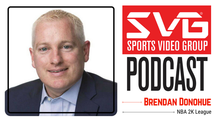 <i>The SVG Podcast:</i> Brendan Donohue, Managing Director, NBA 2K League