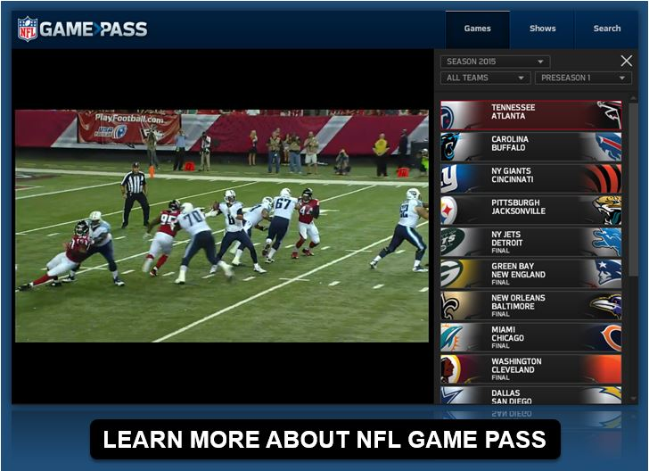 3be3414461c NFL Ditches Authentication for Streamed Local