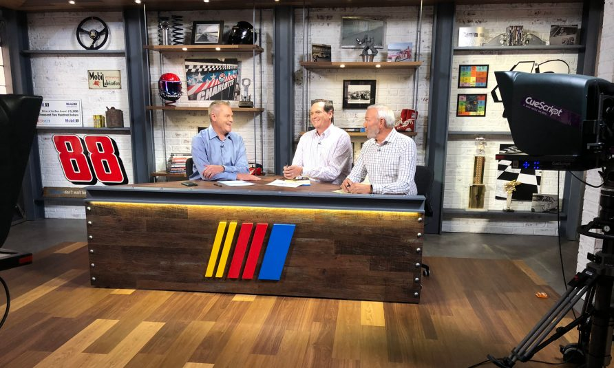 NBC Sports Group Redesigns Charlotte Studio for <i>NASCAR America</i>'s 1,000th Episode