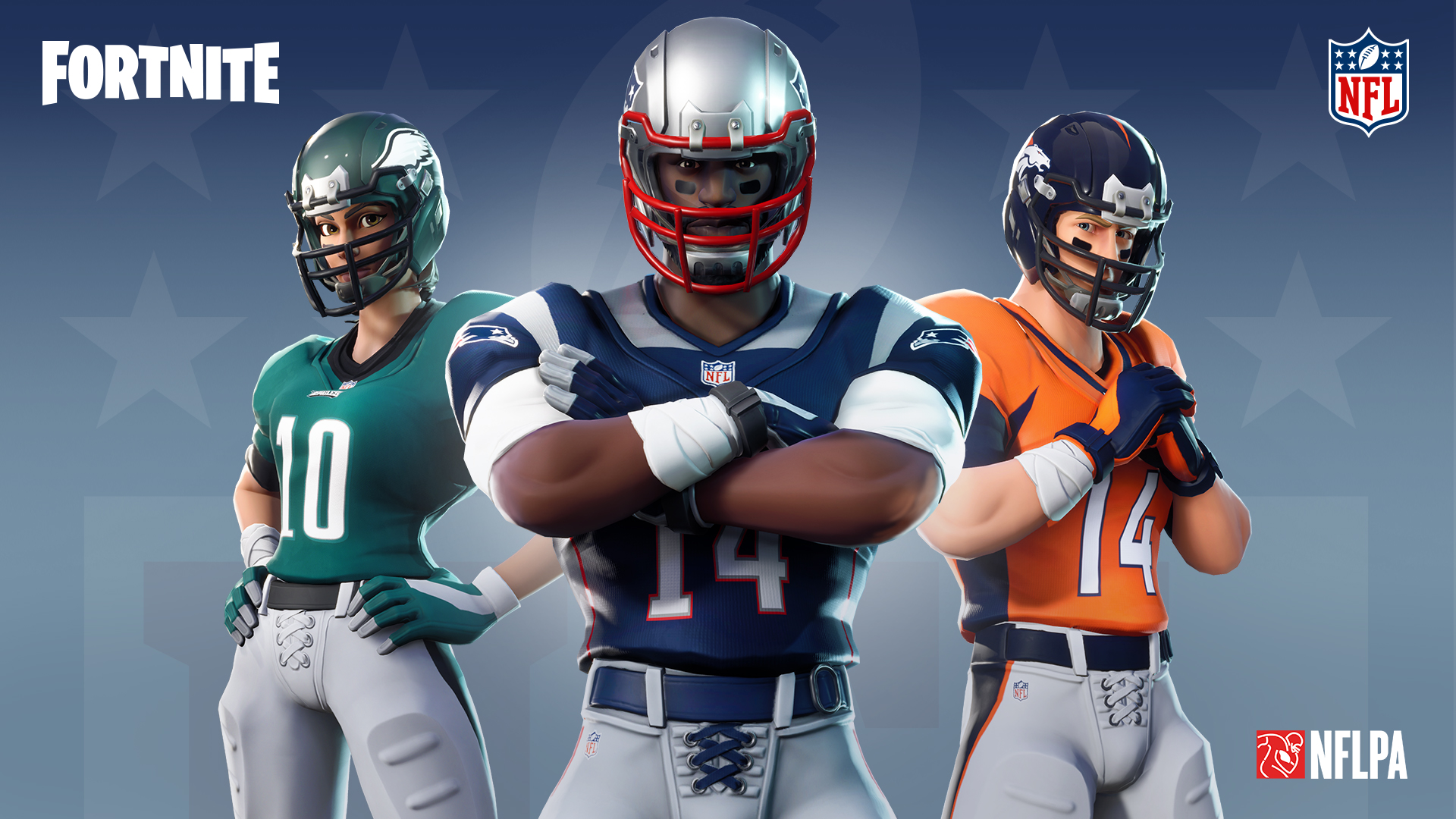 NFL Lends Uniform Designs for Fortnite Character Customization