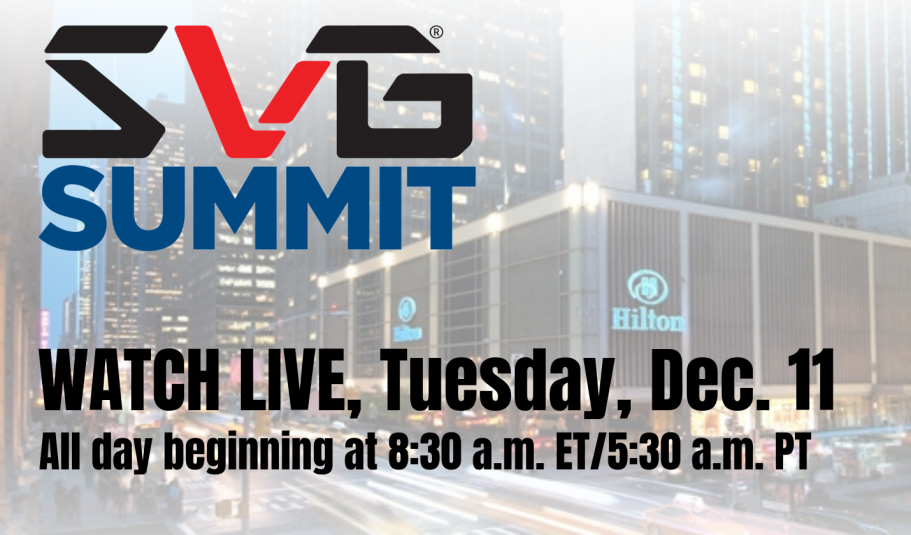 SVG Summit: Day Two General Sessions To Stream Live on Tuesday