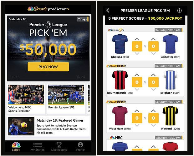 NBC Sports Creates 'Predictor' Game With Chances to Win Prizes, Cash
