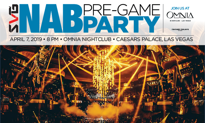 2019 SVG NAB Pre-Game Party