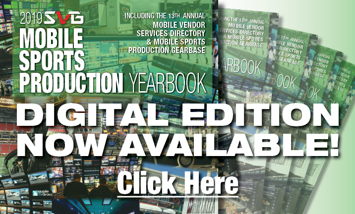 Download Today! 2019 SVG  Mobile Sports Production Yearbook Now Available