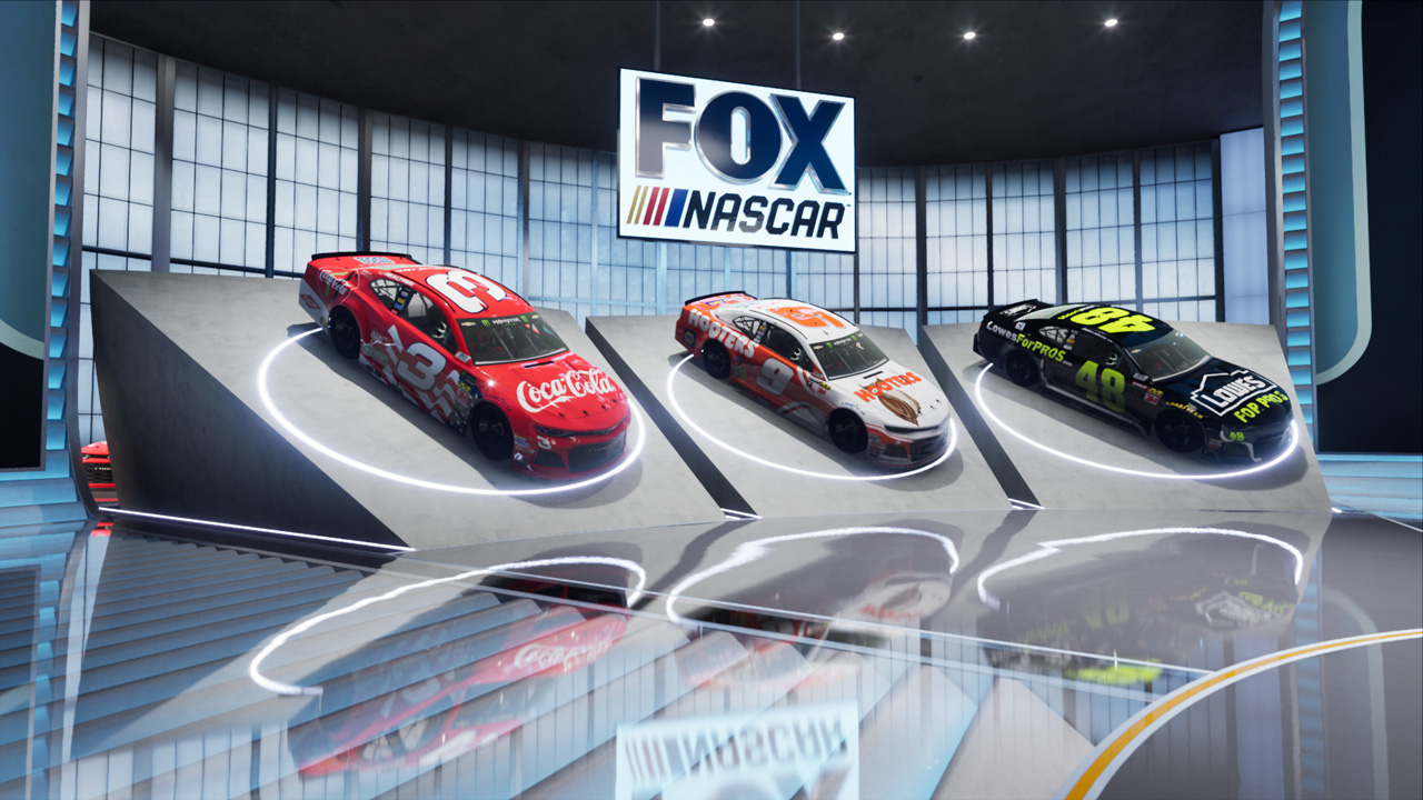 Fox Sports Sets Pace For NASCAR Studio Ops With New
