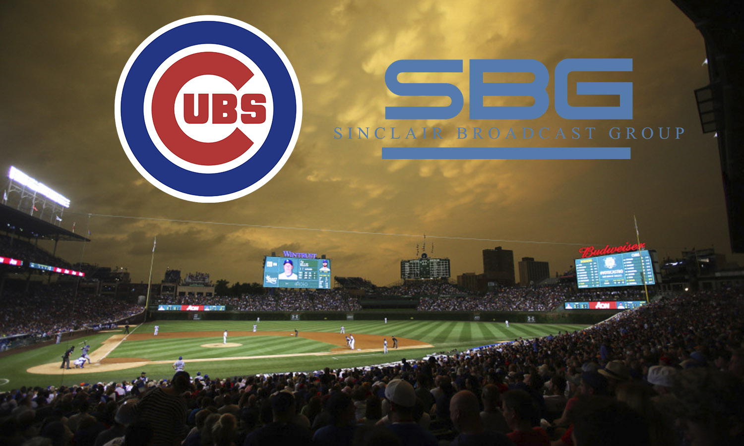 Chicago Cubs, Sinclair Team Up To Launch Marquee Sports
