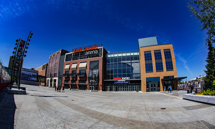 Detroit's Little Caesars Arena Welcomes 150+