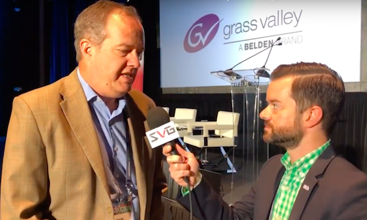 Grass Valley's Mark Hilton on the Unique Challenges of IP In Live Sports