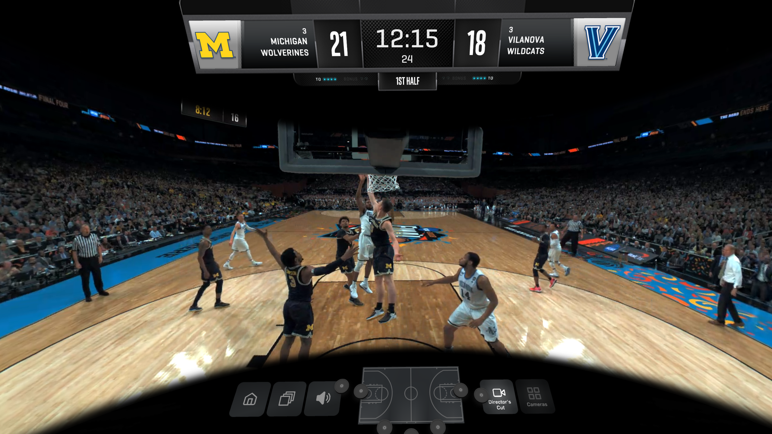 7b53ed27567 March Madness Live VR – developed by Turner Sports in partnership with CBS  Sports