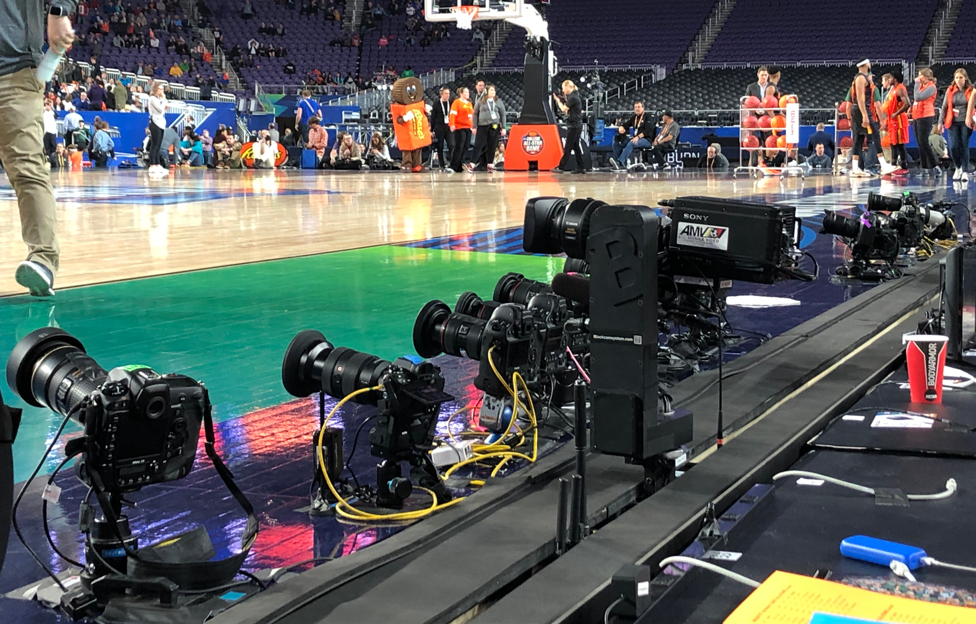 Live From Final Four For Cbs And Turner One Of The Year