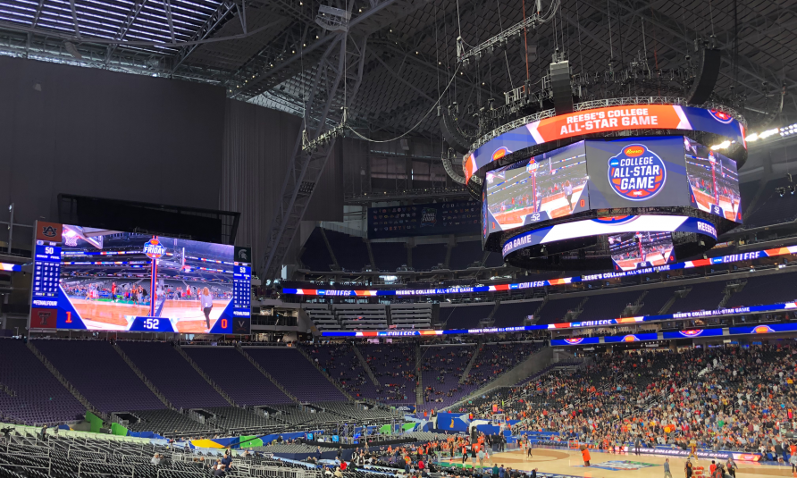 Live From Final Four: U.S. Bank Stadium Delivers an In-Venue Show on a Gigantic Scale