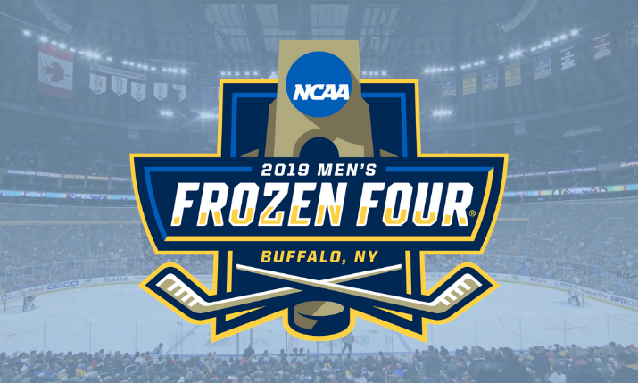 Espn S College Hockey Coverage Goes North To Buffalo For 2019 Frozen