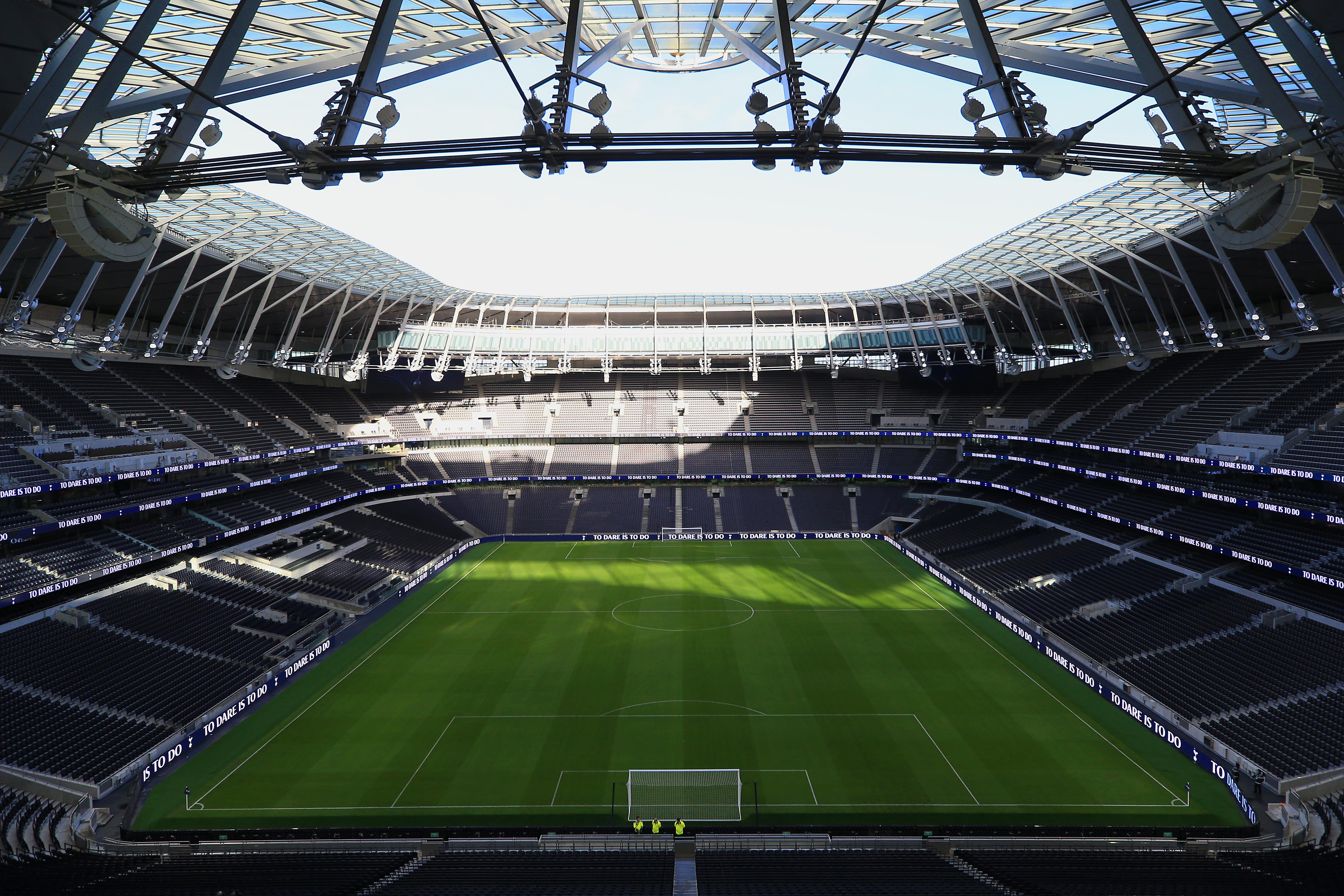 Premier League S Tottenham Hotspur Open Super Stadium