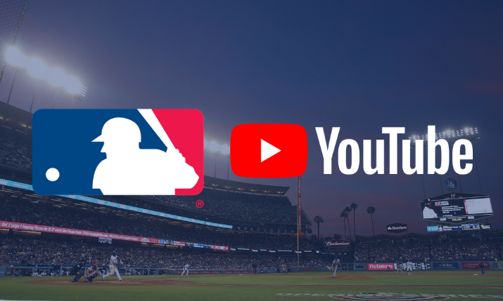 MLB Partners With YouTube to Exclusively Live Stream 13