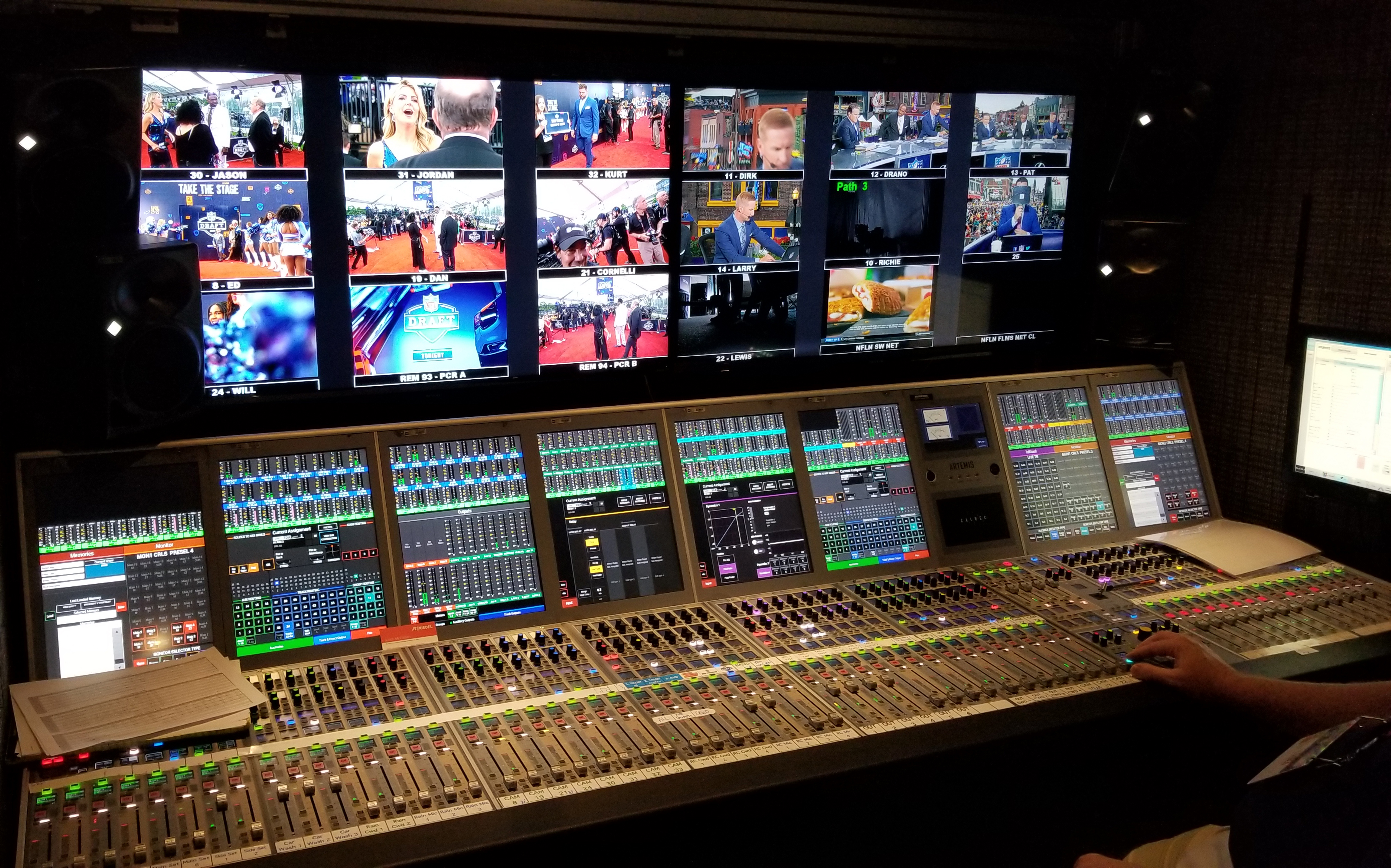 Live From the NFL Draft: ESPN, NFL Media Audio Teams Look To