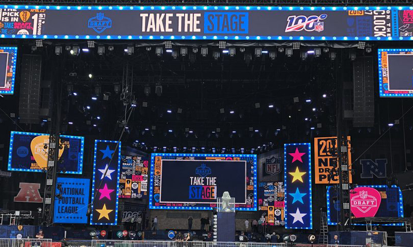 A Look Back at the 2019 NFL Draft: ESPN, NFL Media, VWSE, and More in Nashville (Photo Gallery)