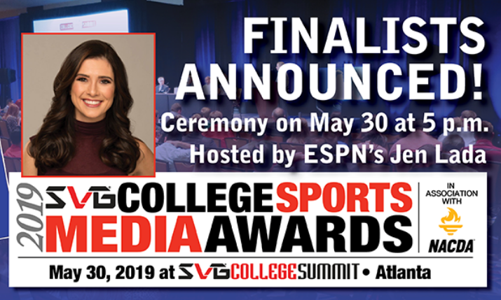 Svg Nacda Unveil Finalists For 2019 College Sports Media Awards