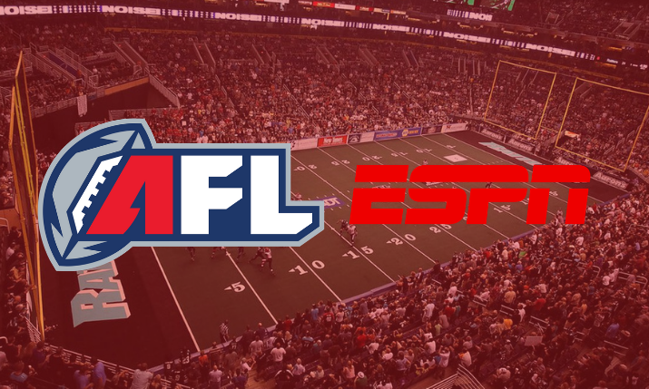 ESPN Becomes Media Rights Holder of All Arena Football