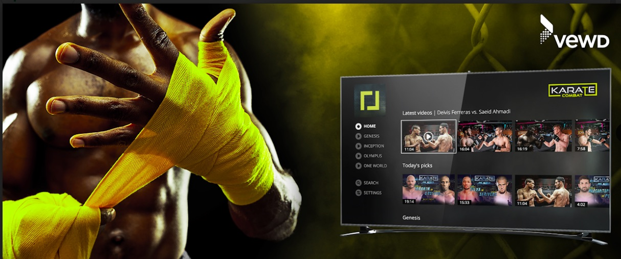 Karate Combat Fights Towards Vewd's First Martial Arts Sports App on