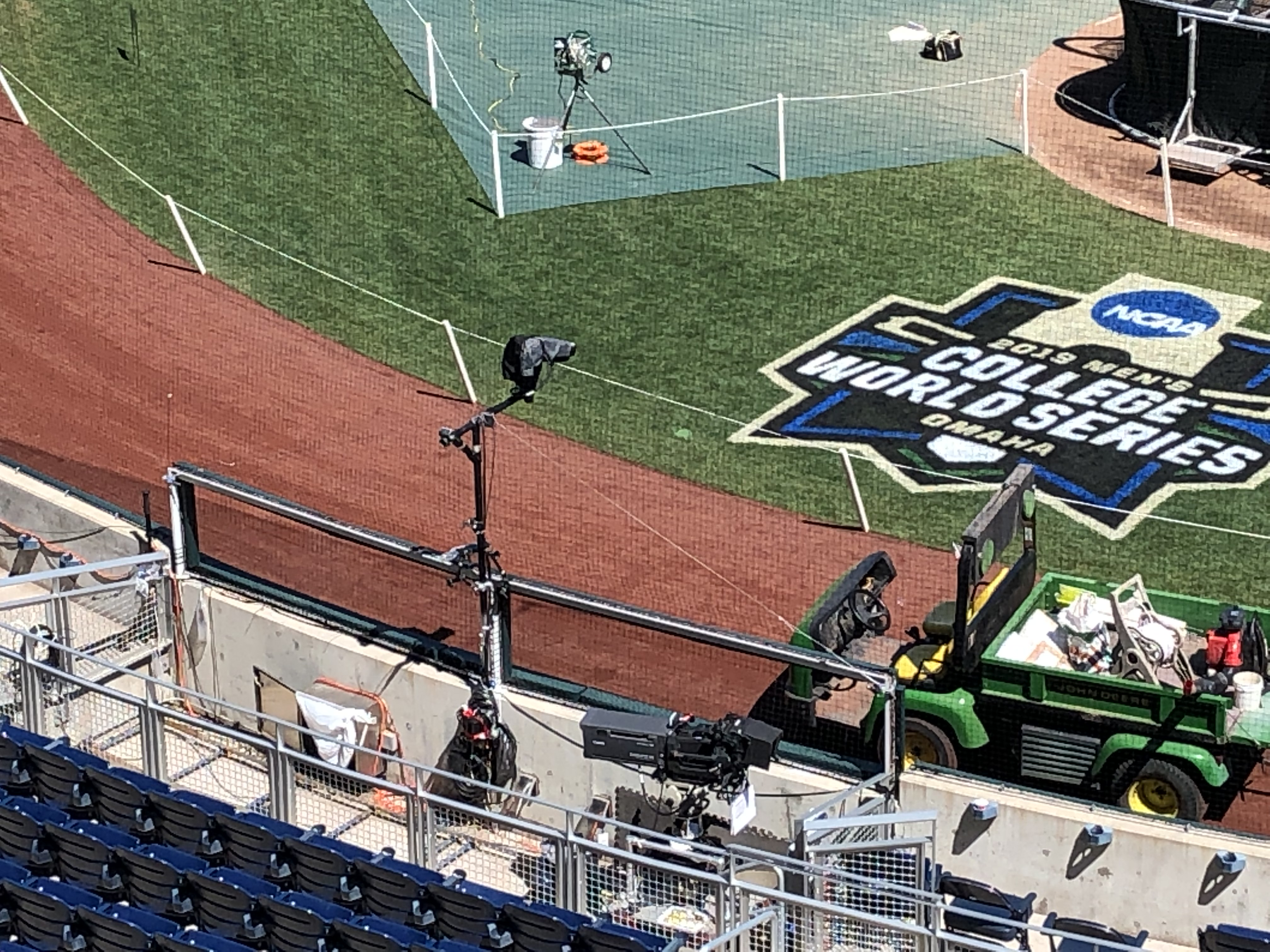 Live From the College World Series: ESPN Deploys MLB-Level