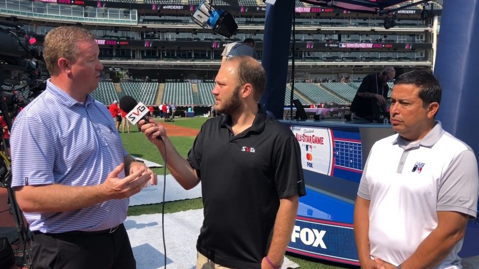Live From MLB All-Star 2019: Fox Sports' Brad Cheney, Francisco Contreras Run Down Latest Tech Innovations in Cleveland