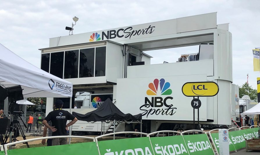 NBC Sports' Tour de France Coverage Adds Augmented Reality, Live On-Bike POV Cameras