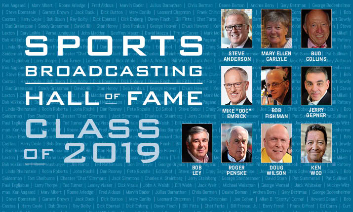 Sports Broadcasting Hall of Fame Announces Class of 2019
