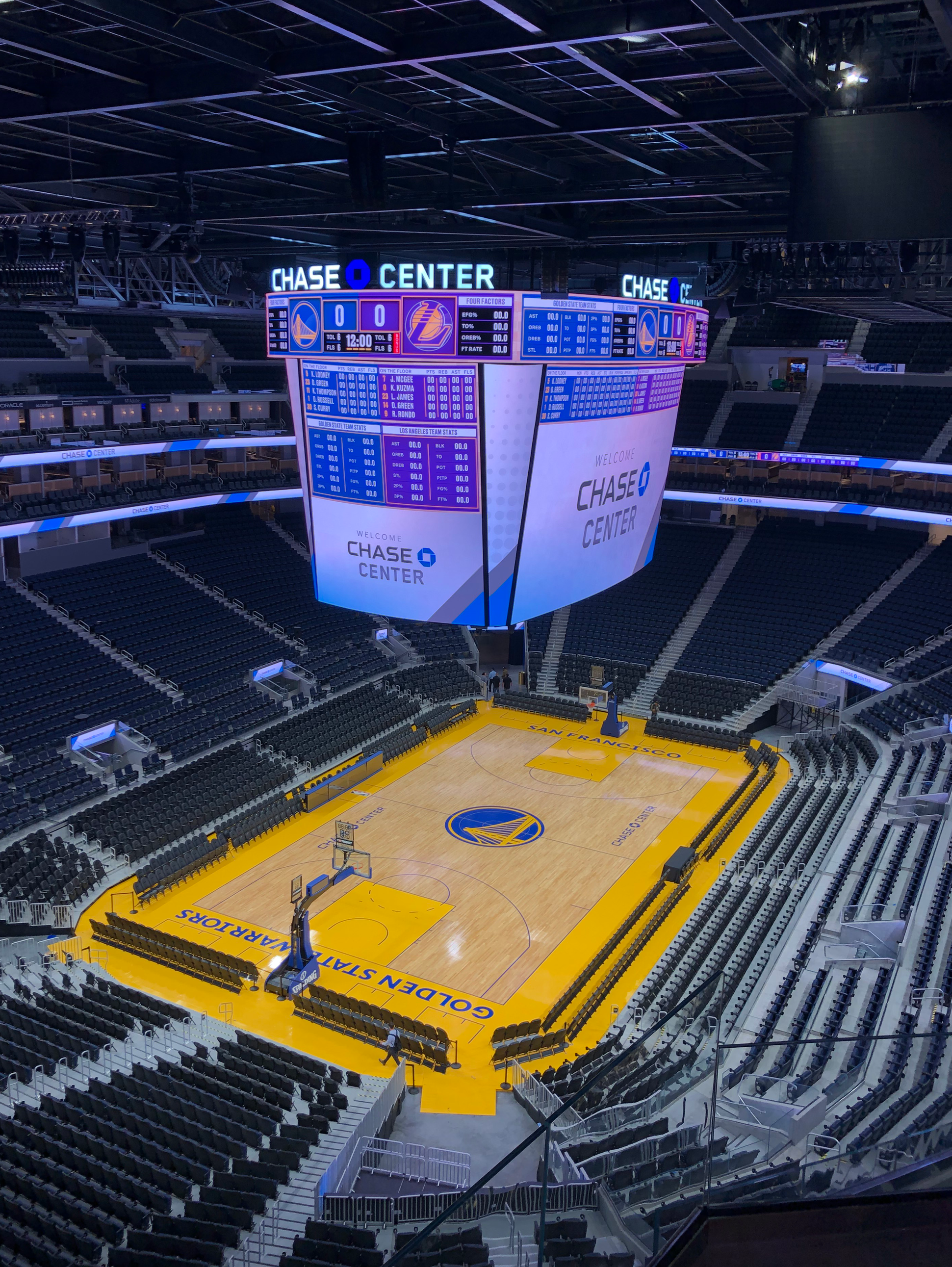 As Chase Center Hosts First Regular Season Golden State Warriors Game First Season Promises To Be A Year Of Discovery