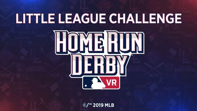 Home Run Derby Bracket 2020.Mlb Little League Join Forces For 2019 Home Run Derby Vr