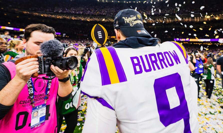 LSU's Digital-Video Team Capitalizes on Championship Moment With a Social-Video Clinic