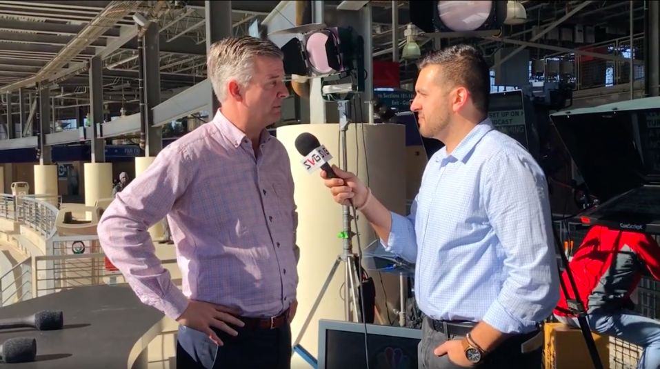 Live From 2020 Winter Classic: NBC Sports' James Stuart Breaks Down Tech Coverage at the Historic Cotton Bowl