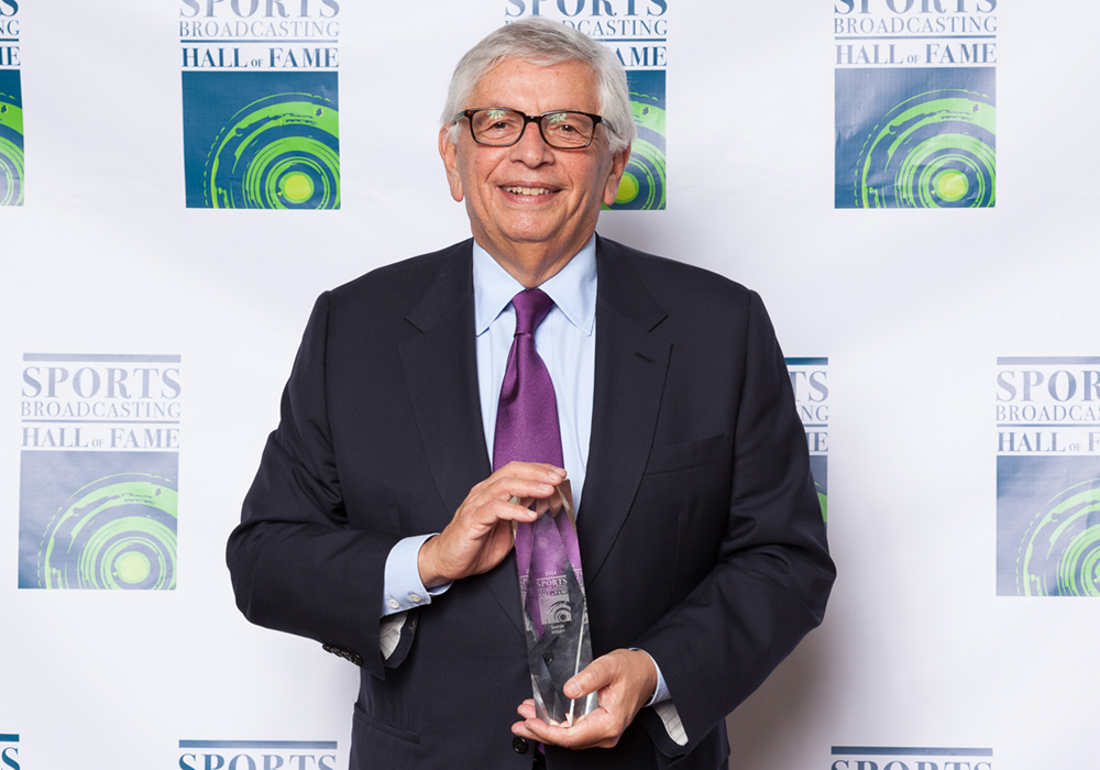 David Stern Sports Broadcasting Hall Of Famer And Legendary