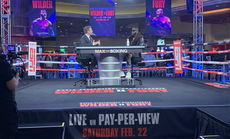 Wilder vs. Fury II: ESPN, Fox Sports Team Up on Outsize Boxing Production in Vegas