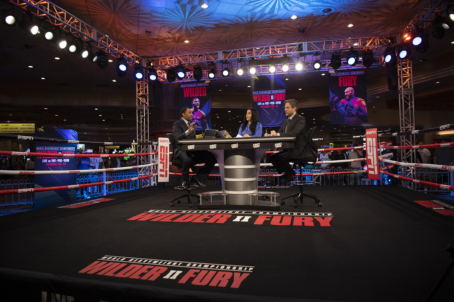 Wilder Vs Fury Ii Espn Fox Sports Team Up On Outsize Boxing Production In Vegas