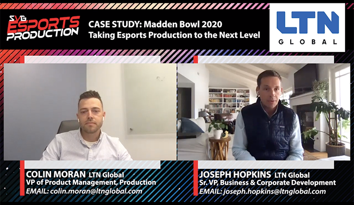 2020 SVG Esports Production Virtual Series: CLICK HERE TO WATCH