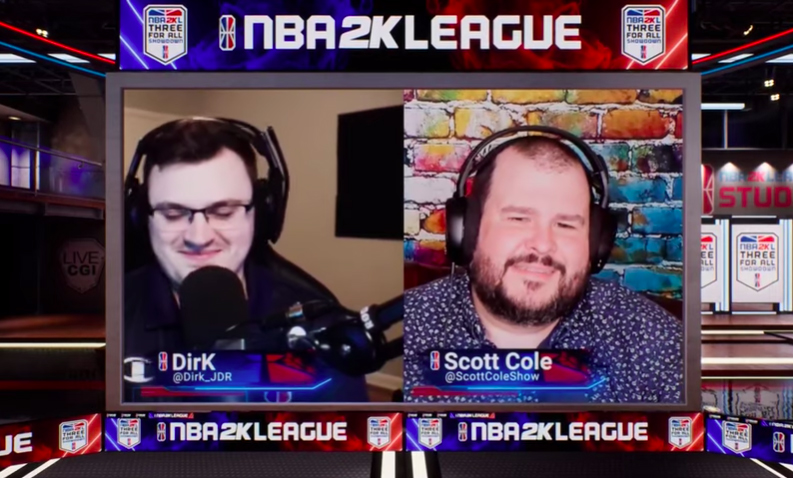 NBA 2K League Goes Virtual for 'Three for All Showdown' Production